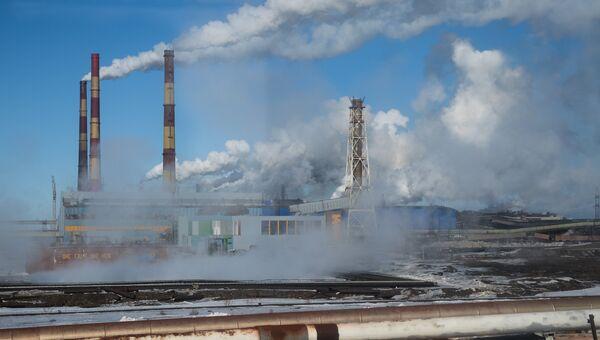 Надеждинский металлургический завод ГМК Норильский никель. Архивное фото