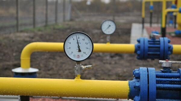 Газовое оборудование Быстрицкого газового месторождения в Дрогобычском районе Львовской области