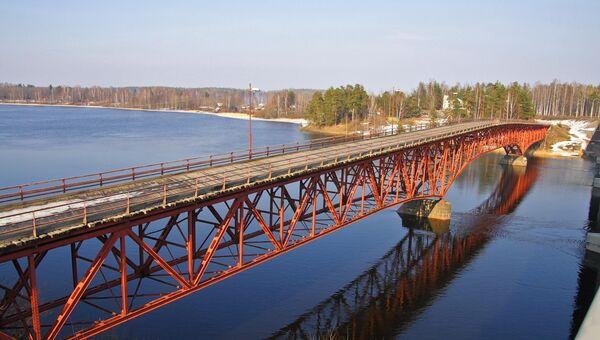 Река Вуокса в Ленинградской области. Архивное фото