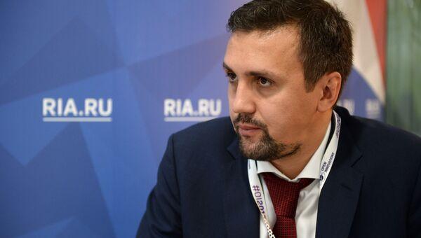Советник руководителя департамента информационных технологий Москвы Андрей Белозеров