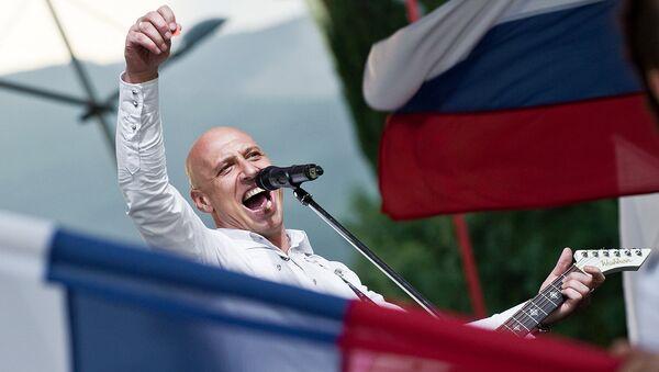Выступление певца Дениса Майданова. Архивное фото