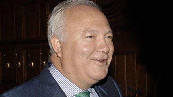 министр иностранных дел Испании Мигель Анхель Моратинос