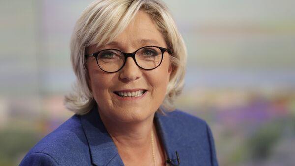 Депутат Национального собрания Франции от 11-го избирательного округа департамента Па-де-Кале Марин Ле Пен. Архивное фото