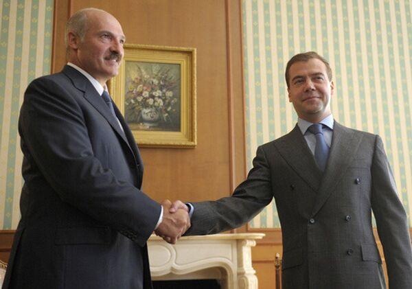 Медведев считает годы существования Союзного государства полезными