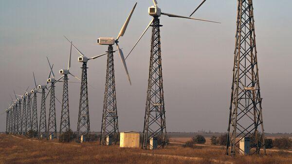 Ветряные электростанции в Крыму