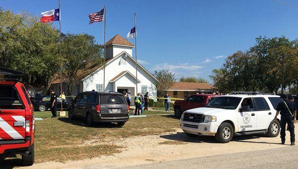 Ситуация у церкви в Сазерленд-Спрингс, Техас. 5 ноября 2017