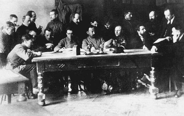 Заседание Коллегии ВЧК, 1919 или 1920 год