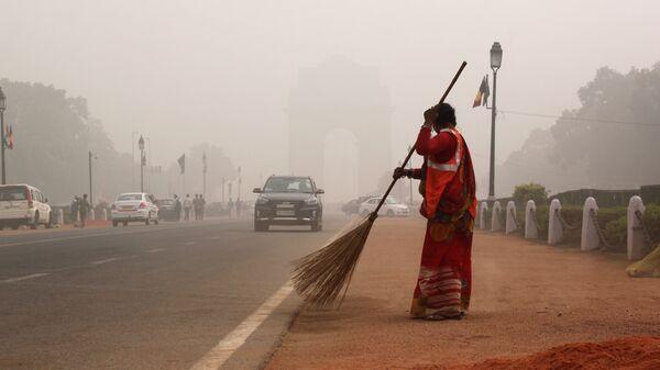 Смог в Нью-Дели, Индия