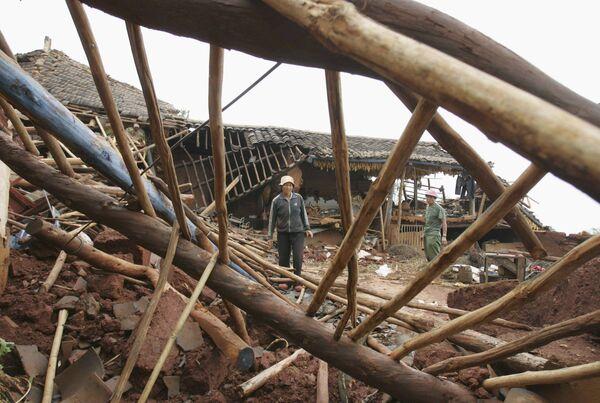 Сильное землетрясение произошло на юго-западе КНР