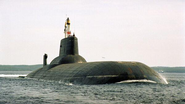 Подводный крейсер-ракетоносец Дмитрий Донской