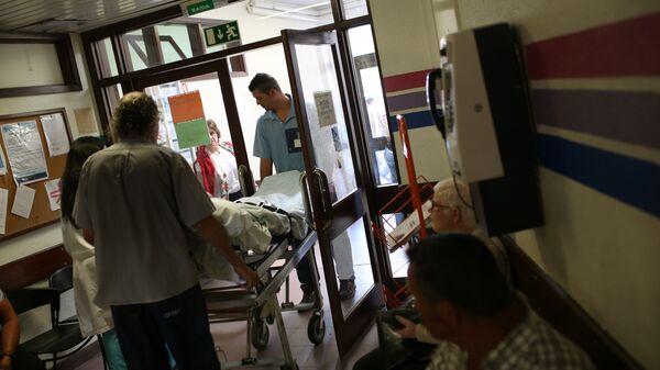 Пациент в одной из больниц Сан-Хосе, Португалия