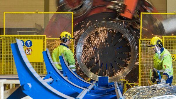 Производство труб для строительства газопроводаСеверный поток – 2