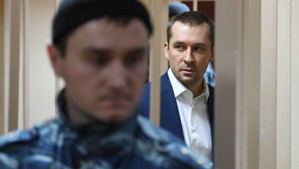 Дмитрий Захарченко во время судебного заседания. Архивное фото