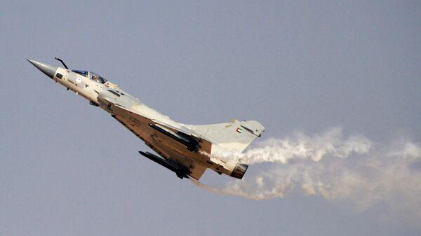 Французский многоцелевой истребитель Mirage 2000. Архивное фото