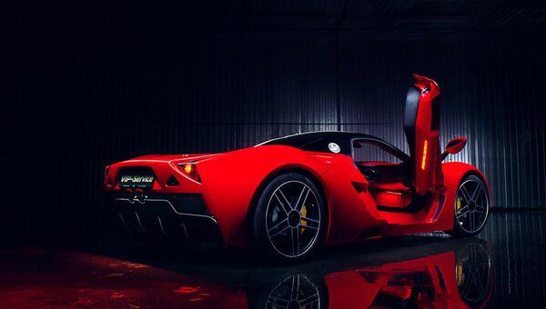 Автомобиль Marussia B1