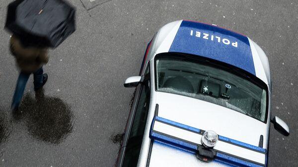 Автомобиль австрийской полиции