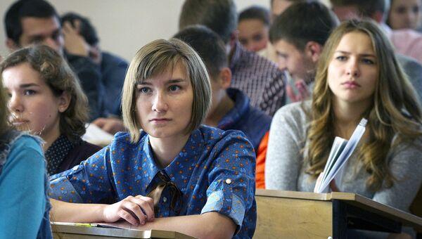 Студенты. Архивное фото