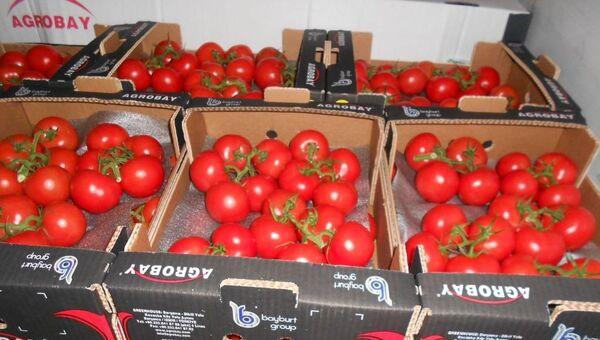 Турецкие томаты. Архивное фото