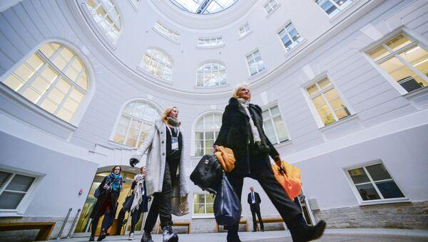 Участники Санкт-Петербургского международного культурного форума. Архивное фото