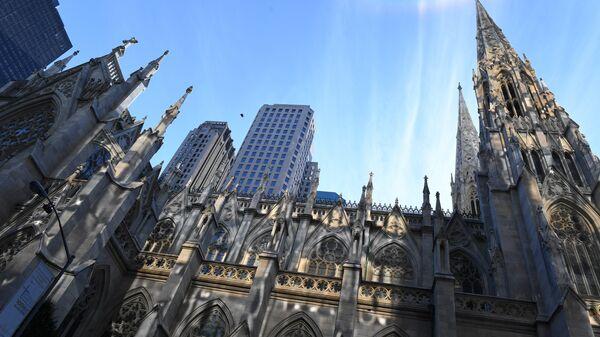 В соборе Святого Патрика в Нью-Йорке задержали мужчину с канистрами бензина