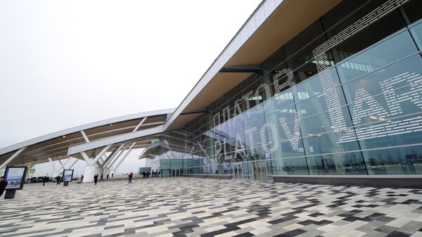Здание нового аэропорта Платов в Ростове-на-Дону