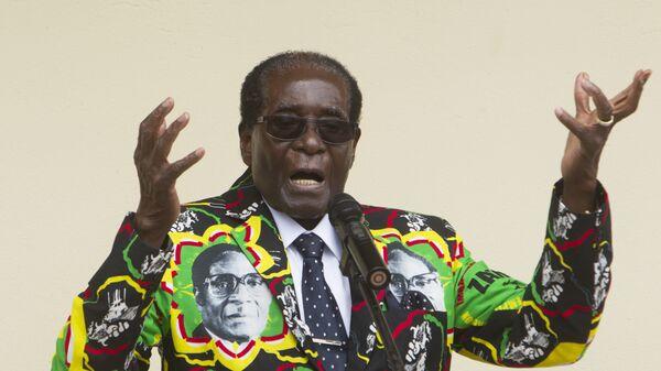 Президент Зимбабве Роберт Мугабе. Архивное фото.