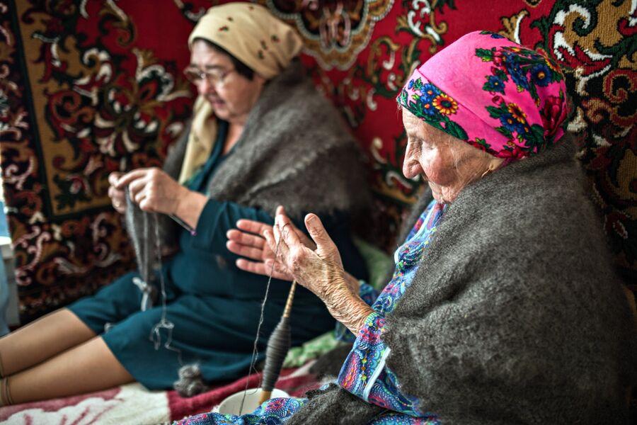 Не проходит и дня, чтобы односельчане не проведали самую старшую жительницу Татарского Саракташа