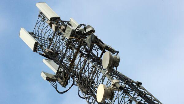 Вышка мобильной связи стандарте LTE в Симферополе