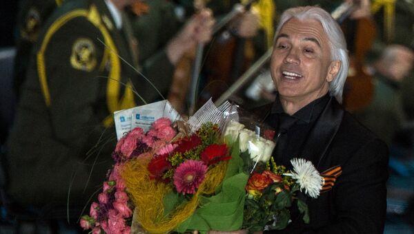 Дмитрий Хворостовский на пресс-конференции, посвященной премьере оперного моно-шоу проекта И.Крутого Дежавю