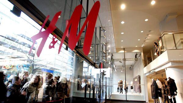 Магазин H&M в Стокгольме. Архивное фото
