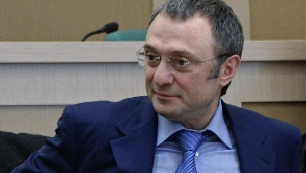 Сенатор Сулейман Керимов. Архивное фото
