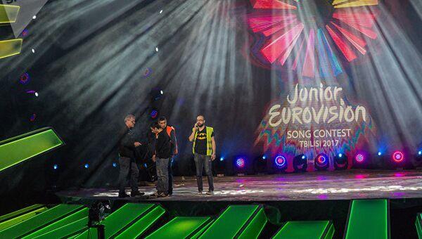 Подготовка к конкурсу Детское Евровидение - 2017 в Грузии