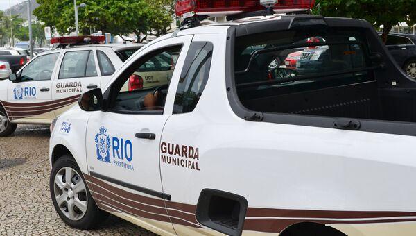 Автомобили полицейских в Бразилии. Архивное фото