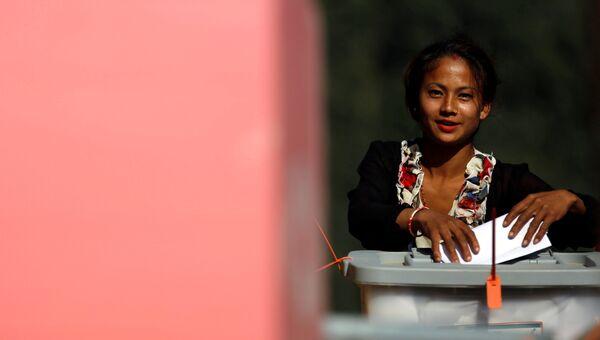 Первый этап парламентских выборов, Непал. 26 ноября 2017