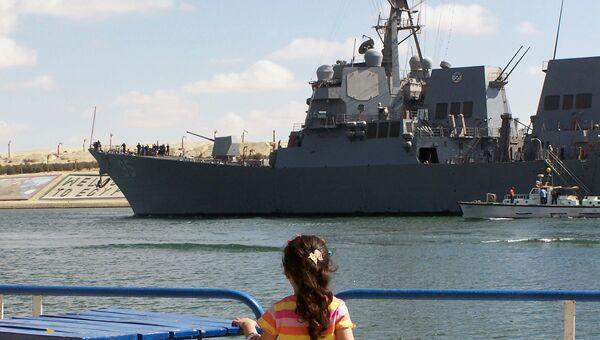 Американский эсминец USS James E. Williams. Архивное фото.