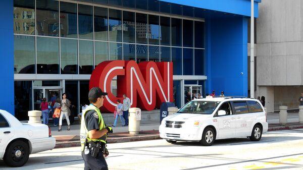 Здание телеканала CNN