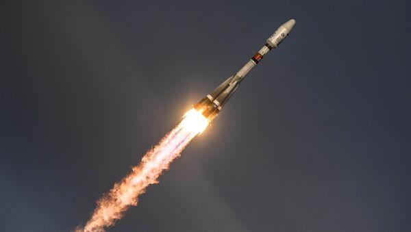 Старт ракеты-носителя Союз-2.1б. Архивное фото