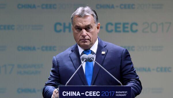 Премьер-министр Венгрии Виктор Орбан. Архивное фото