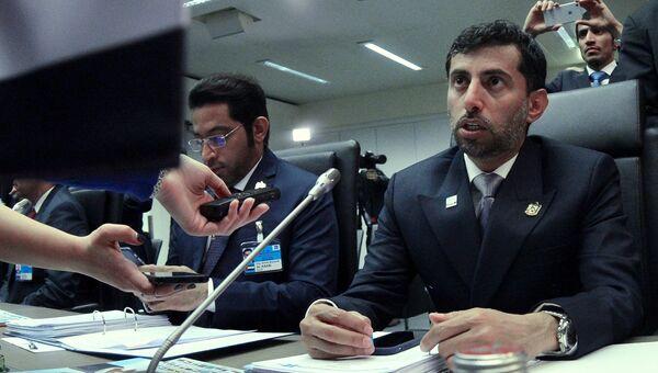 Министр энергетики ОАЭ Сухейль Мухаммед аль-Мазруи. Архивное фото