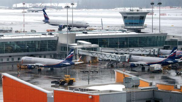Терминал D аэропорта Шереметьево