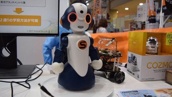 Робот на международной выставке роботов IREX в Токио