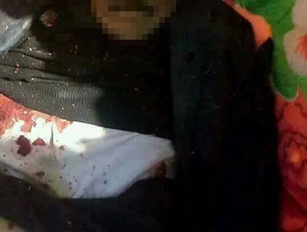 Погибший экс-президент Йемена Али Абдалла Салех на кадре из видео, распространенном хуситами