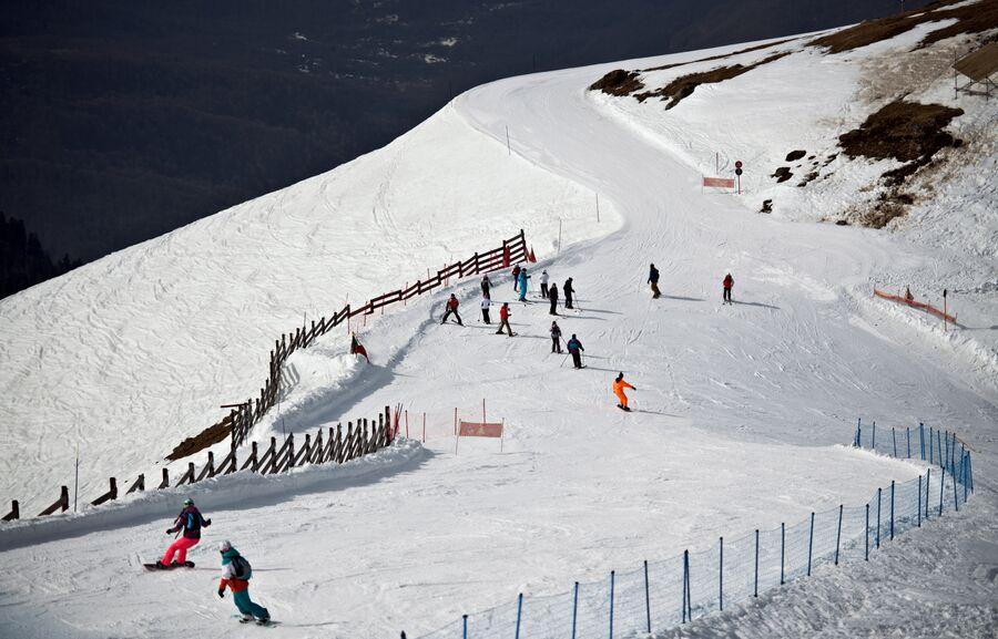 102 км горнолыжных трасс позволяет выбрать вариант катания в соответствии с подготовкой