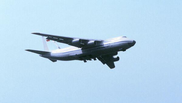 Грузовой самолет АН-124 Руслан. Архивное фото