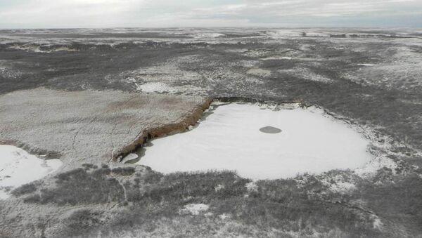 Воронка в Ямало-Ненецком автономном округе