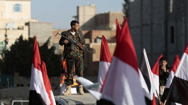 Повстанцы-хуситы в Йемене