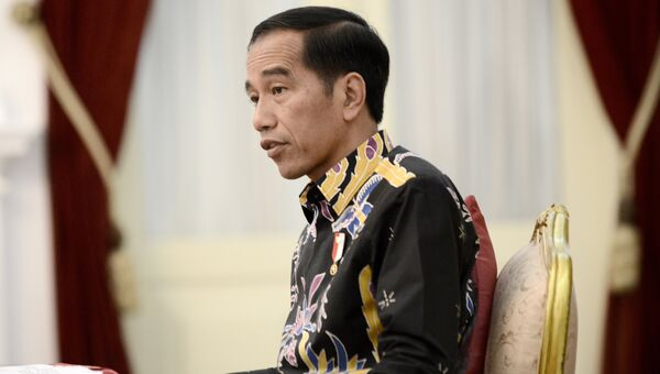 Президент Индонезии Джоко Видодо. Архивное фото