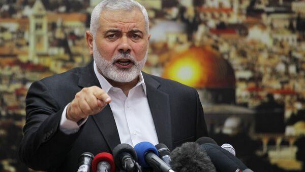 Лидер ХАМАС Исмаил Хания. Архивное фото