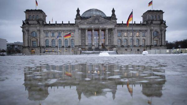 Здание Рейхстага в Берлине, Германия