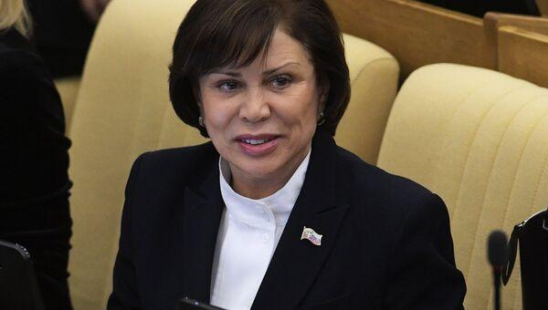 Заместитель председателя комитета Государственной Думы РФ по международным делам Ирина Роднина. Архивное фото